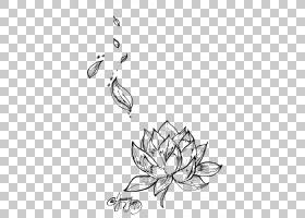 黑白花,圆,树,植物群,视觉艺术,黑白,花卉设计,线路,植物,传粉者,