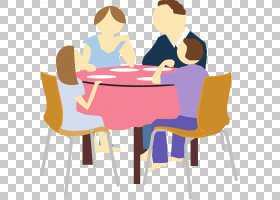 家庭卡通,家具,椅子,表,对话,线路,沟通,坐着,角度,健康,博客,晚