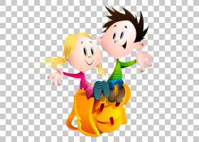 儿童节绘画,手势,微笑,相互作用,快乐,世界儿童日,卡通,家庭,幸福