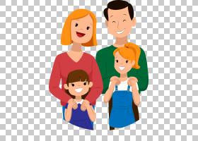 卡通友谊日快乐,友谊,男性,有趣,母亲,对话,脸,脸颊,微笑,面部表