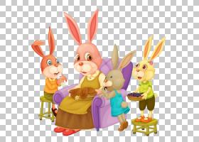 复活节兔子背景,复活节,食物,孩子,卡通,家庭,兔子,彼得兔的故事,