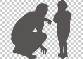 家庭剪影,男人,黑白,男性,人,关节,手,站立,女人,卡通,家庭,离婚,