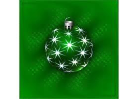 绿色创意星光灯球