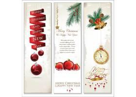 圣诞主题书签卡片标签设计