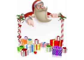 圣诞老人与礼物