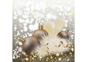 圣诞节节日气氛礼物装饰插画设计