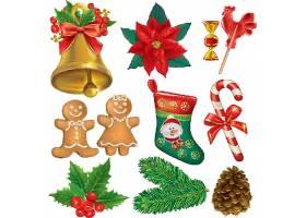圣诞节物品装饰元素