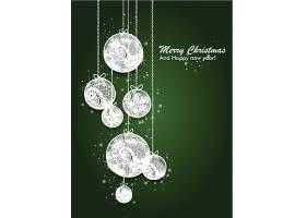 新年快乐圣诞节矢量装饰元素插画标签设计