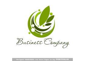 健康绿叶logo