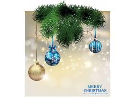 圣诞节平安夜新年装饰元素设计
