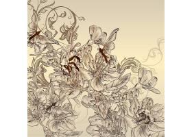 中国风壁纸花