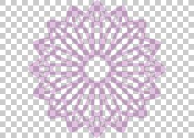 伊斯兰花卉背景,圆,线路,紫罗兰,花瓣,紫色,丁香,对称性,花,粉红