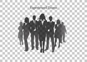 商务女性,黑白,团队,人,绅士,作业,社会群体,沟通,剪影,站立,事件图片