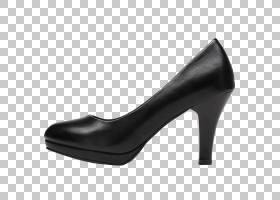 女卡通,高跟鞋,基本泵,鞋类,黑色,黑白,步行鞋,周吉米,女人,着装,