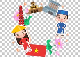 圣诞装饰画,卡通,圣诞节,假日,线路,圣诞装饰,派对帽,面积,圣诞装图片