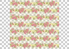 粉红色花卡通,线路,纺织品,Placemat,材质,粉红色,花瓣,颜色,着色
