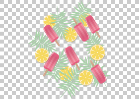 粉红色花卡通,线路,花,水果,黄色,花瓣,食物,硬糖,糖果,糖果,叶,