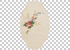 粉红色花卡通,花盆,椭圆形,剪贴簿,粉红色,花瓣,破旧别致,古董,复