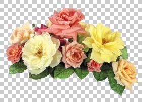 粉红色花卡通,花卉,花瓣,插花,人造花,黄色,玫瑰秩序,玫瑰家族,植