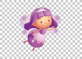 粉红色花卡通,雕像,婴儿玩具,玩偶,丁香,玩具,仙女,花仙子,薰衣草