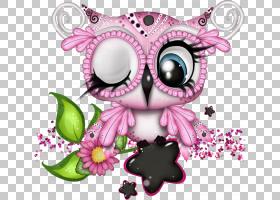 粉红色花卡通,飞蛾与蝴蝶,猛禽,传粉者,视觉艺术,蝴蝶,花,粉红色,