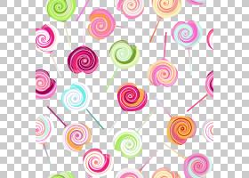 粉红色花卡通,圆,线路,花瓣,螺旋,点,花,粉红色,软件设计模式,甜