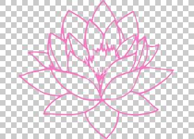 粉红色花卡通,圆,面积,对称性,线路,植物群,树,植物,花瓣,粉红色,