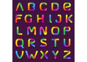 创意个性字母字体样式设计