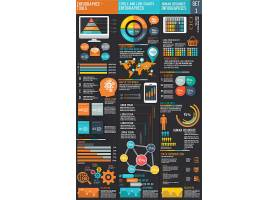 信息图表公司统计分析信息展示