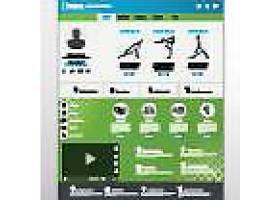 现代时尚网页界面按钮导航模板