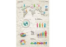 丰富的信息数据图表内容展示