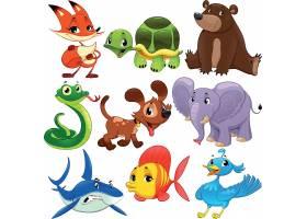儿童卡通动物形象