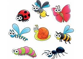 昆虫类儿童卡通形象