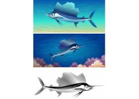 金枪鱼儿童卡通形象