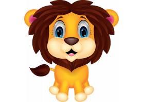 狮子儿童卡通形象