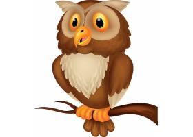 猫头鹰儿童卡通形象