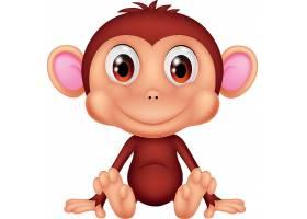 猴子儿童卡通形象
