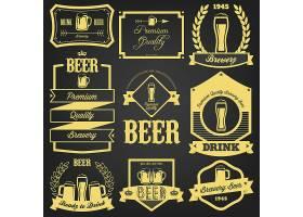 啤酒主题标签设计