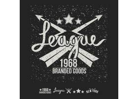 创意流行潮流T恤装饰图案标签设计