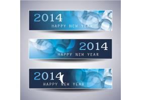 璀璨闪耀的新年主题banner背景