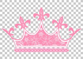 卡通皇冠,线路,洋红色,粉红色,公主,头饰,孩子,王子,男孩,婴儿,王