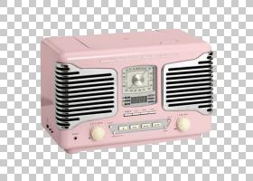 复古背景,技术,电子仪器,调频广播,扬声器,复古服装,复古风格,粉