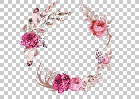 婚礼花卉背景,花卉设计,插花,切花,发饰,花瓣,首饰,粉红色,花环,