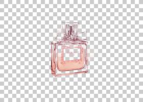 水彩画,化妆品,健康美容,玻璃瓶,粉红色,可可香奈儿,信条,香水师,