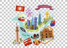 画卡通,玩具,食物,香港,绘画,绘图,卡通,香港岛,