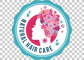 粉红色花卡通,洋红色,圆,点,文本,面积,花,理发店,美,发型,化妆品