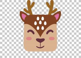 驯鹿卡通,鹿角,头盔,鼻子,口吻,头部,阿凡达,免费,鹿,驯鹿,