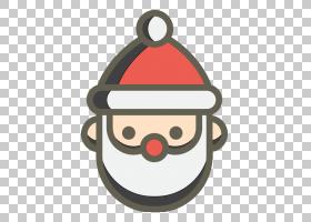 红色圣诞饰品,圣诞老人,圣诞节,圣诞装饰品,贴纸,礼物,表情符号,图片