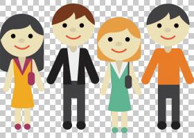 儿童卡通,幸福,卡通,友谊,线路,专业,微笑,人,手指,对话,作业,孩