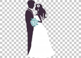 婚礼花束,男性,拥抱,爱,相互作用,关节,浪漫,剪影,肩部,花束,手,图片